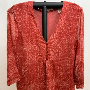 Coldwater Creek Women's Casual Blouse, Extra Small